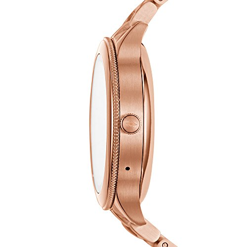 Fossil Women's Gen 3 Venture Stainless Steel Smartwatch, Color: Rose Gold-Tone (Model: FTW6000)