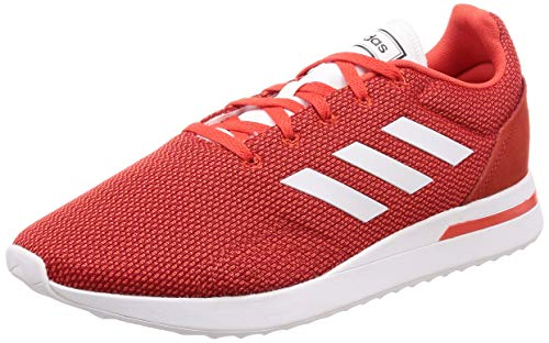 adidas RUN70S, Zapatillas de Running Hombre, Rojo (Hi/Res Red S18/Ftwr White/Scarlet Hi/Res Red S18/Ftwr White/Scarlet), 44 EU