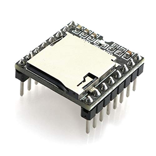 Tegg 1PC DFPlayer Mini MP3 Player Module MP3 Voice Audio Decoder Board for Arduino Support TF Card and U Disk