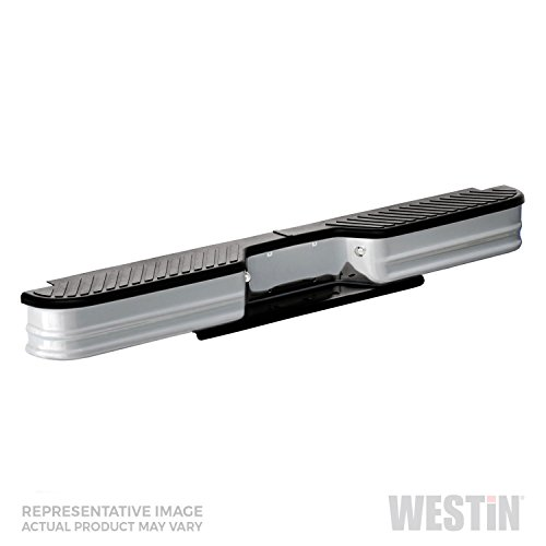 Fey 20022 SureStep Universal Silver Replacement Rear Bumper (Requires Fey vehicle specific mounting kit sold separately)