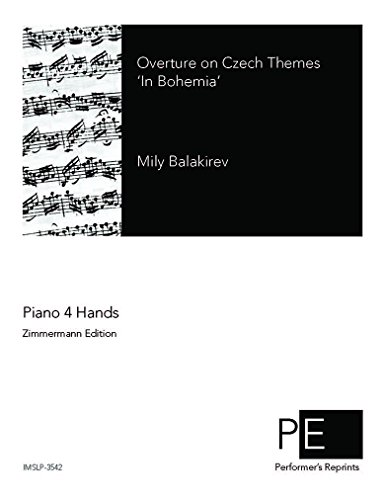 In Bohemia - For Piano 4 hands (Lyapunov)