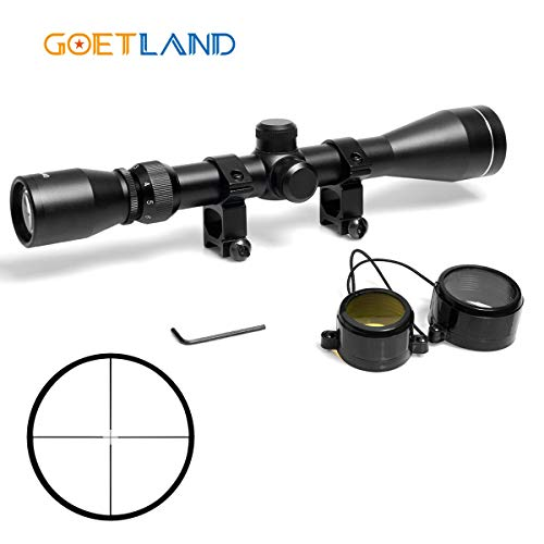 Goetland 3-9x40 Rifle Scope Optics R4 Reticle Crosshair Tactical Hunting Sniper...