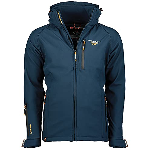 Geographical Norway TABOO MEN - Chaqueta Softshell Impermeable Hombre - Capucha...
