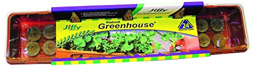 Jiffy J324 36mm Windowsill Greenhouse 24-Plant Starter Kit