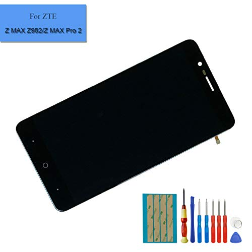 for ZTE Blade Z Max Z982 / ZMax Pro 2 6.0 Inch Touch Screen Replacement Screen Display Digitizer LCD (No Frame)