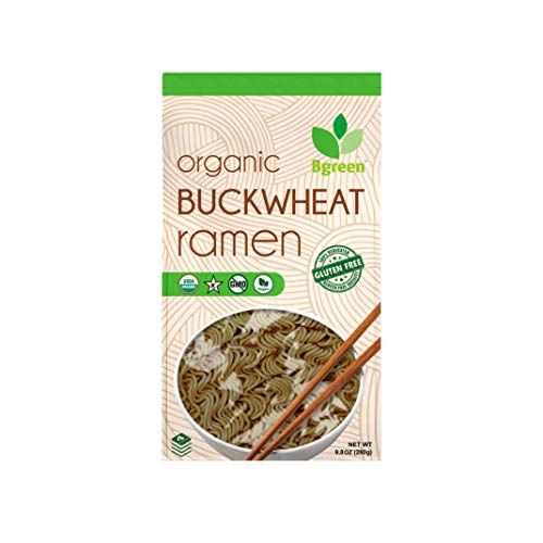 Big Green Organic Food- Organic Buckwheat Ramen, Gluten-Free, Non-GMO, Vegan, Kosher (3)