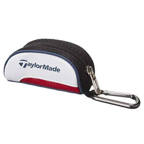 テーラーメイド(TAYLOR MADE) トゥルーライト ボールケース ホワイト/ネイビー/レッド M7236201 FREE