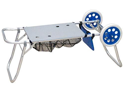 Carro playa portasillas de aluminio 105x52cm
