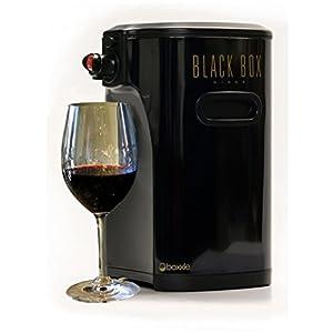 Boxxle Wine Dispenser, Black Box