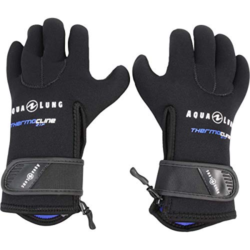 Aqua Lung 5mm Thermocline Zip Gloves - Small