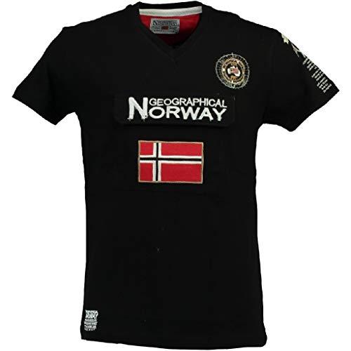 Geographical Norway Camiseta DE NIÑO JAYFOUR Negro 10