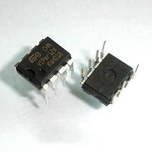 UIOTEC 10Pcs VIPER12A DIP-8 VIPER12 SMPS Primary Switcher*