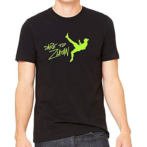 XDD kjjhbgyugyt Dare to Zlatan Ibrahimovic Unisex Tshirt (Size:XL