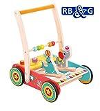 Lauflernwagen Zirkus aus Holz mit Gummibereifung/Spielspaß für Kinder