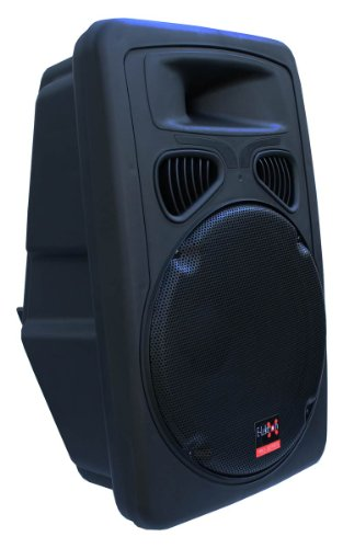 E-Lektron JAD38-B Sound-ANLAGE USB/SD & Bluetooth Aktiv-Lautsprecher Soundsystem Digitale Enstufe 500W RMS