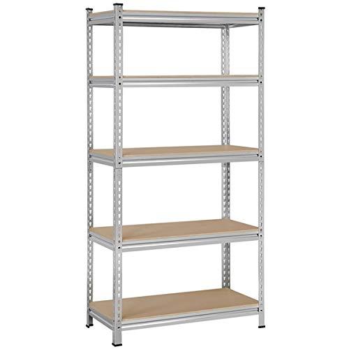 5 Shelf Wire Metal Shelving Unit NSF Storage Shelves, 14