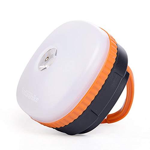 LED-campinglantaarn oplaadbaar met magnetische voet, 3 lichtmodi, 1200 mAh powerbank, waterdicht, voor orkaan noodgevallen, buiten, wandelen, thuis en in de auto