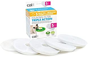 Catit 43746 Fountain Filter 5 Pieces, White