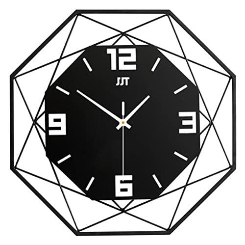 Reloj, Reloj De Pared, Reloj De Salón, Reloj De Cuarzo Decorativo De Metal Doméstico