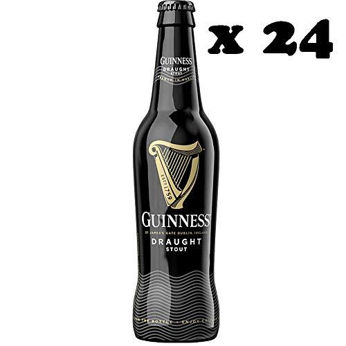 Guinness Draught Stout   Birra Irlandese   Confezione 24 Bottiglie 33Cl   Idea Regalo