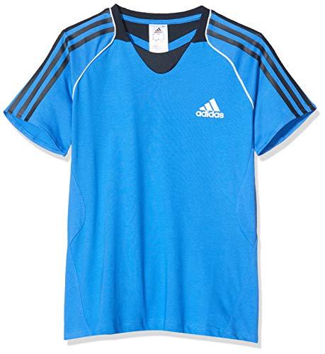 adidas T-Shirt Pres S/s Tee Maglietta, Blu (Blue G85920), 40 (Taglia Produttore: 34) Donna