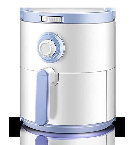 ZZZHMW Heteluchtfriteuse, 4,2 liter, met knopbediening, friteuse zonder vet, 1400 watt, gezond koken heteluchtfriteuses