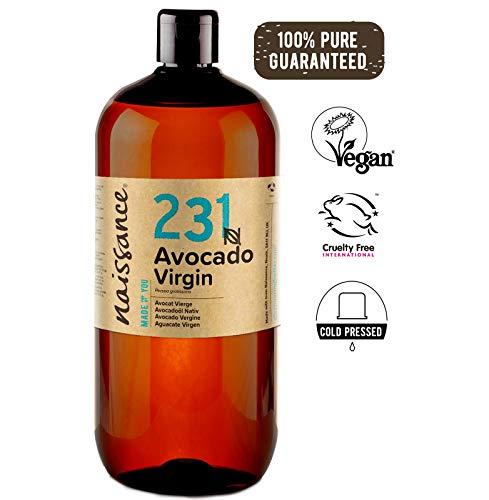 Naissance Avocadoöl, nativ 1 Liter (1000ml) 100% rein