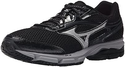 Mizuno Men's Wave Legend 3 Running Shoe, Black/Silver, 12.5 D US