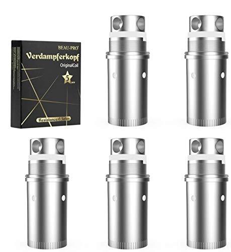 NOWKIN Lovaper, 0.5 OHM Resistance 80W Cigarette Electronique, 5 pack-NOWKIN Lovaper pour Cigarette Electronique Kit Complet Electronique Sans Nicotine