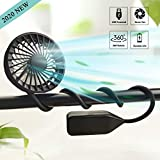 Hand Free Neck Fan USB Rechargeable Portable Sport Fan with...