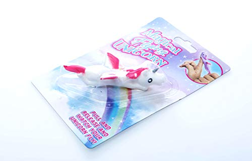 Boxer Gifts Magical Flying Unicorn Toy | Fun Toy for Unicorn Lovers | Great Birthday, Christmas, Stocking Stuffer Gift for Girls