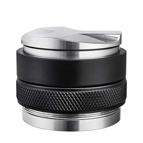 MATOW Kaffee-Verteiler und Tamper, 58 mm, Doppelkopf-Kaffee-Nivellierer, passend für Siebträger, erhöhte einstellbare Tiefe, professionelle Espresso-HandTampers