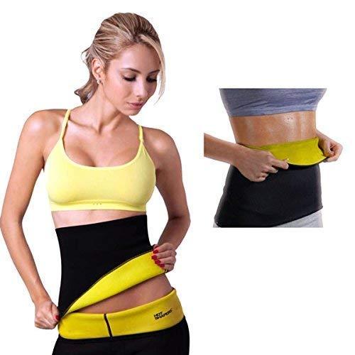 SAFE HEED Sweat Shaper Belt, Belly Fat Burner for Men & Women - Sizes M, L, XL, 2XL, 3XL and 4XL