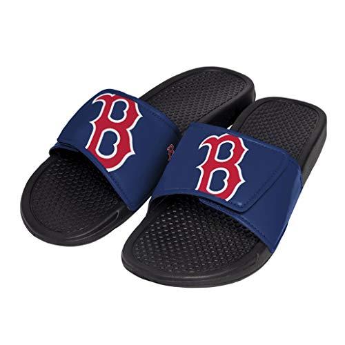 MLB Boston Red Sox Unisex Cropped Big Logo Youth SLIDECROPPED Big Logo Youth Slide, Team Color, XL