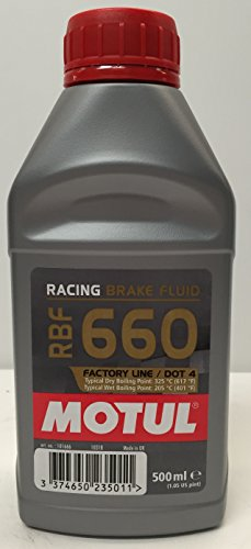 Fluido Liquido Olio Freno MOTUL Race Brake Fluid RBF 660 Factory Line DOT 4 0,5l