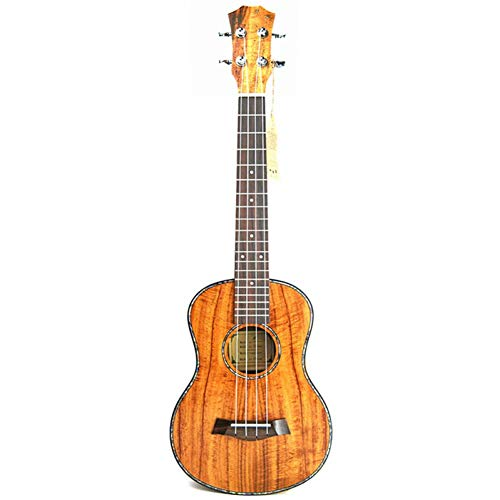 ZGHNAKKonzert Ukulele Kits 23 Zoll Mahagoni Uku 4 String Gitarre Mit Tasche Tuner Capo Strap Stings Picks Für Anfänger Musical Instrume