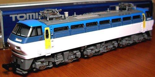 J.R. Electric Locomotive EF66 (Model Train)