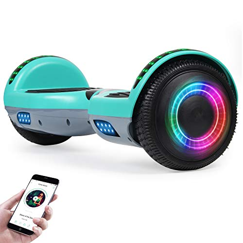 "Hoverboard for Kids with Bluetooth Speaker, 6.5"" Two Wheel Electric Hover Board"