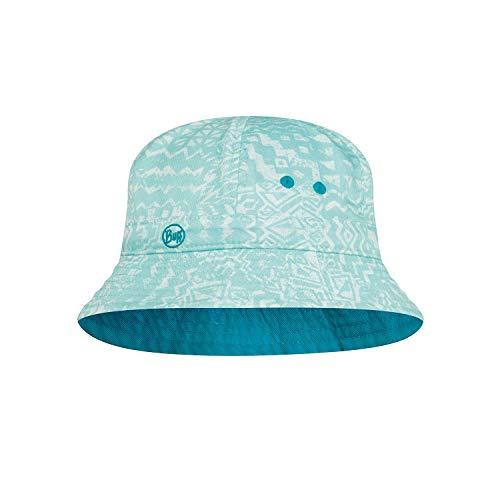 Buff Kinder Bucket Hat Kappe, blau, Einheitsgröße
