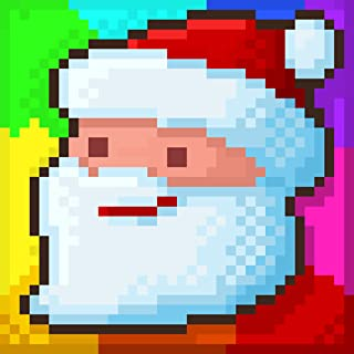 Secret Pixel Garden - Color by Number pixel Game