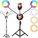 6.6' RGB Selfie Ring Light,...