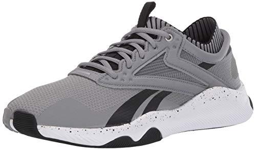 Reebok mens HIIT TR,Pure Grey/Black/White,11.5 M US