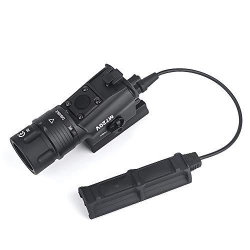 WADSN シュアファイア M720V LEDライト 米軍特殊部隊仕様高輝度LED ストロボ(点滅)機能搭載!SUREFIREタイプM720V RAID ウェポンライト
