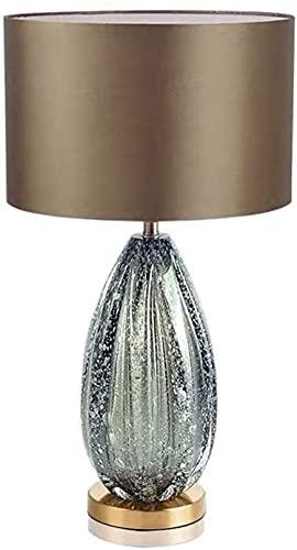 nakw88 Table Lamps Villa Model Room Light Luxury Minimalist Living Room Bedroom Bedside Lamp Glass Glass Table Lamp 38 * 65CM