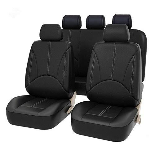 LeftSuper Seat Hoofddeksels Pu Lederen Autostoel Cover Kunstleer Vier Seizoenen Universele Kussen Veel Zetels Autostoel Bescherming
