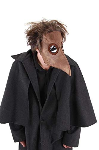 Plague Doctor Costume Mask Adult One Size