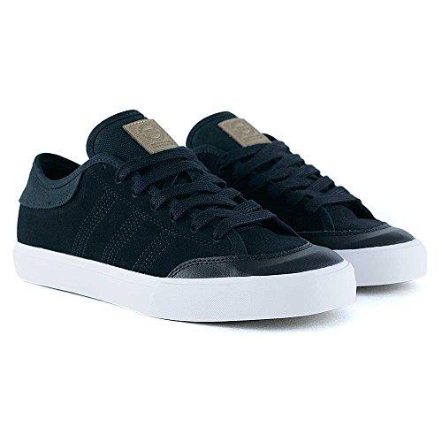 adidas Matchcourt Rx2, Zapatillas de Skateboarding Hombre, Negro (Negbas/Carton/Ftwbla), 45 1/3 EU