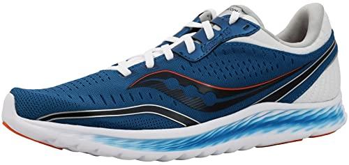 Saucony Men's Kinvara 11 Running Shoe - Color: Blue/Black (Regular Width) - Size: 10