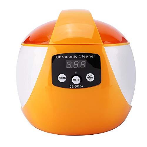 yuyte Professioneller 750-ml-Ultraschallreiniger, 42.000-Hz-Waschmaschine für Gläser, Schmuck, wasserdichte Uhren, Maniküre-Werkzeuge, zahnärztliche Werkzeuge, Tätowierungswerkzeug (01)
