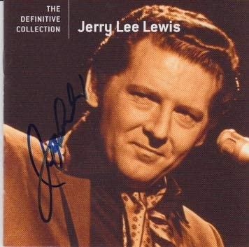 Ranking TOP13 Jerry Lee Lewis signed Max 82% OFF CD